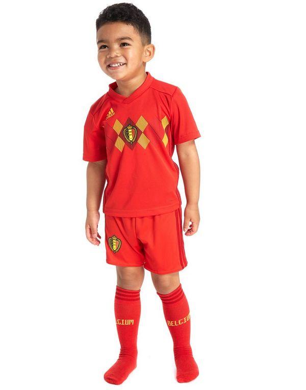 adidas Belgium 2018 Home Kit Children  92eb83a89