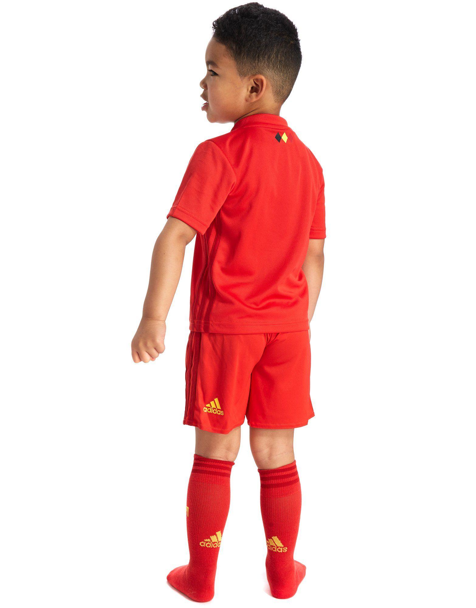 adidas conjunto Bélgica 2017/18 Mini infantil