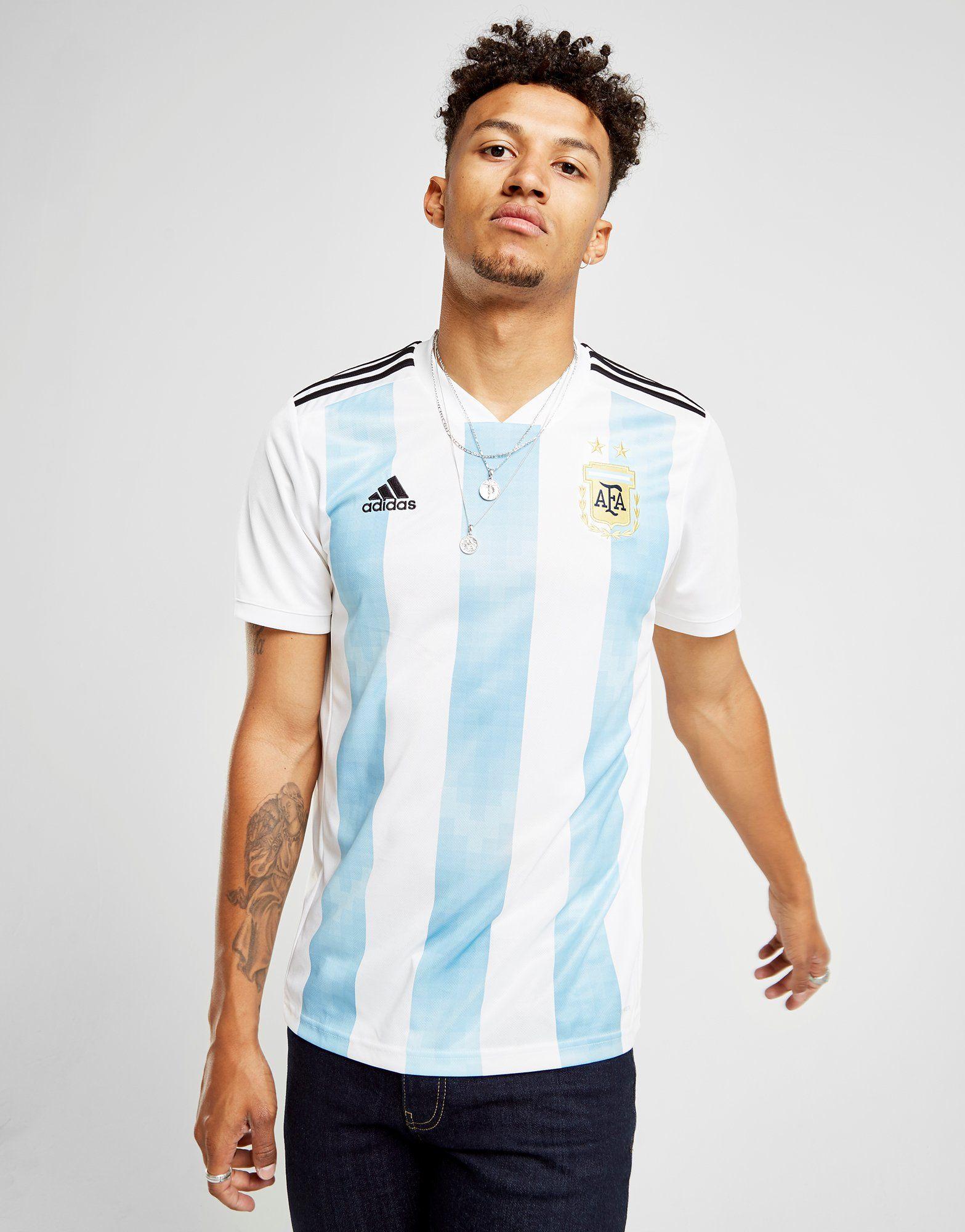 adidas Argentina 2017/18 Home Shirt
