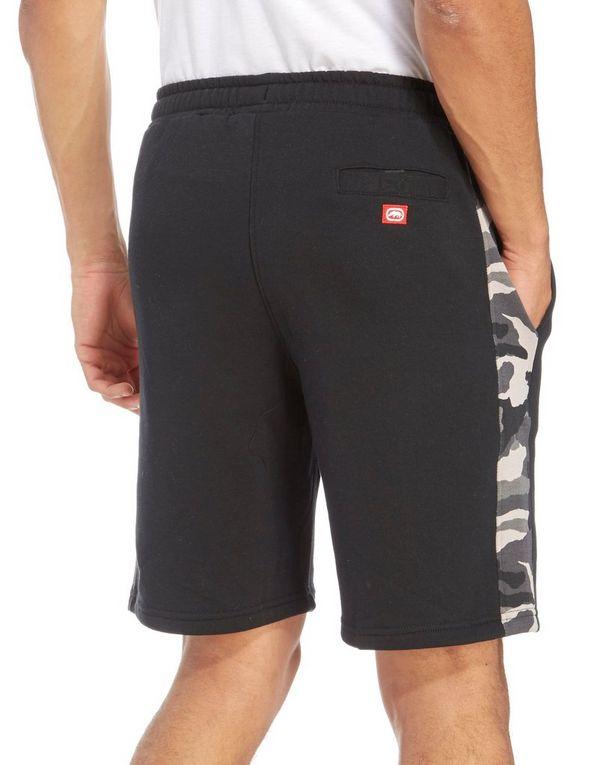 Ecko Doug Fleece Camo Trim Shorts