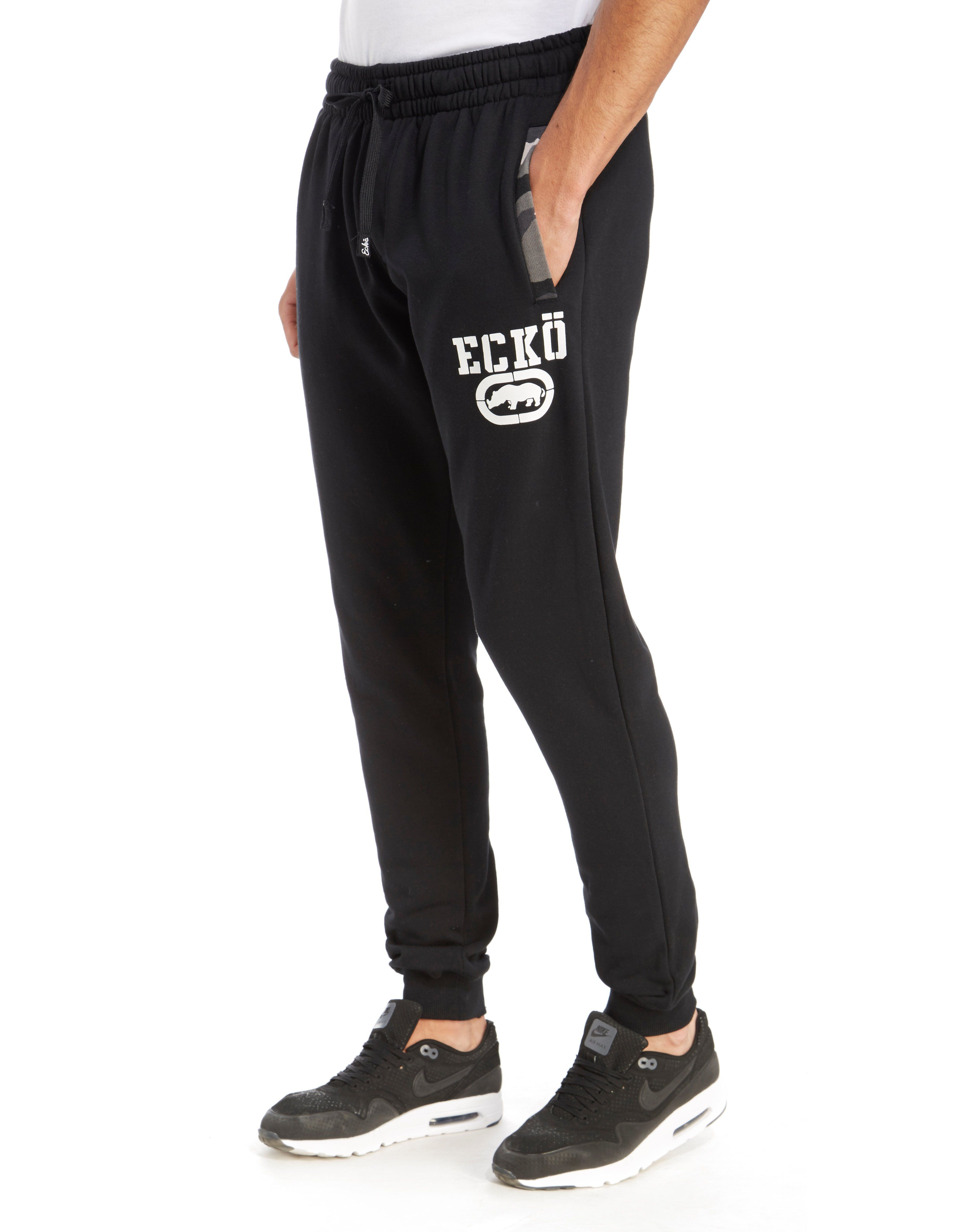 Ecko General Camo Trim Jogging Pants
