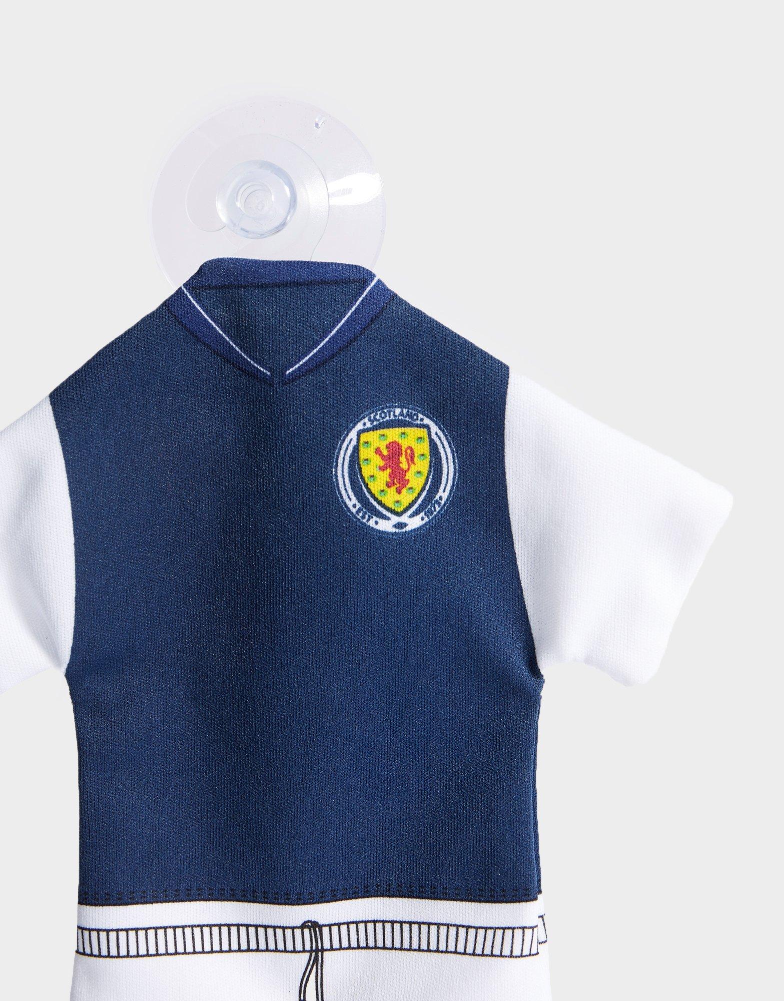 Official Team Scotland FA Home Kit Car Hanger