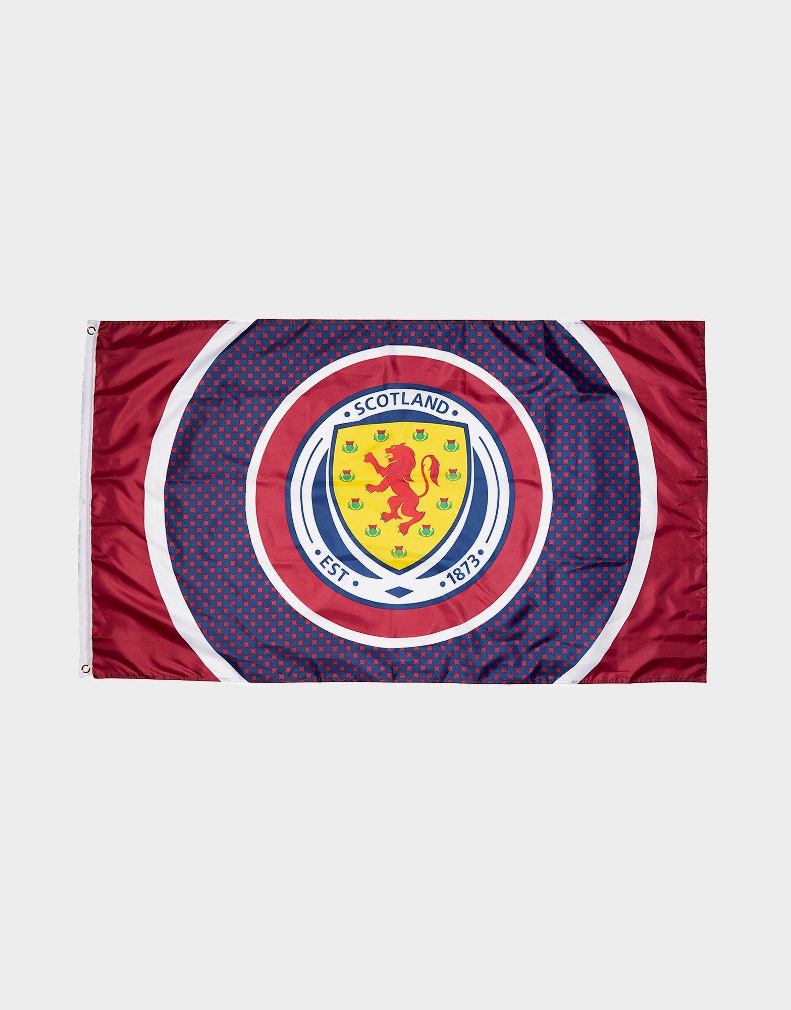 Official Team Scotland FA Bullseye Flag