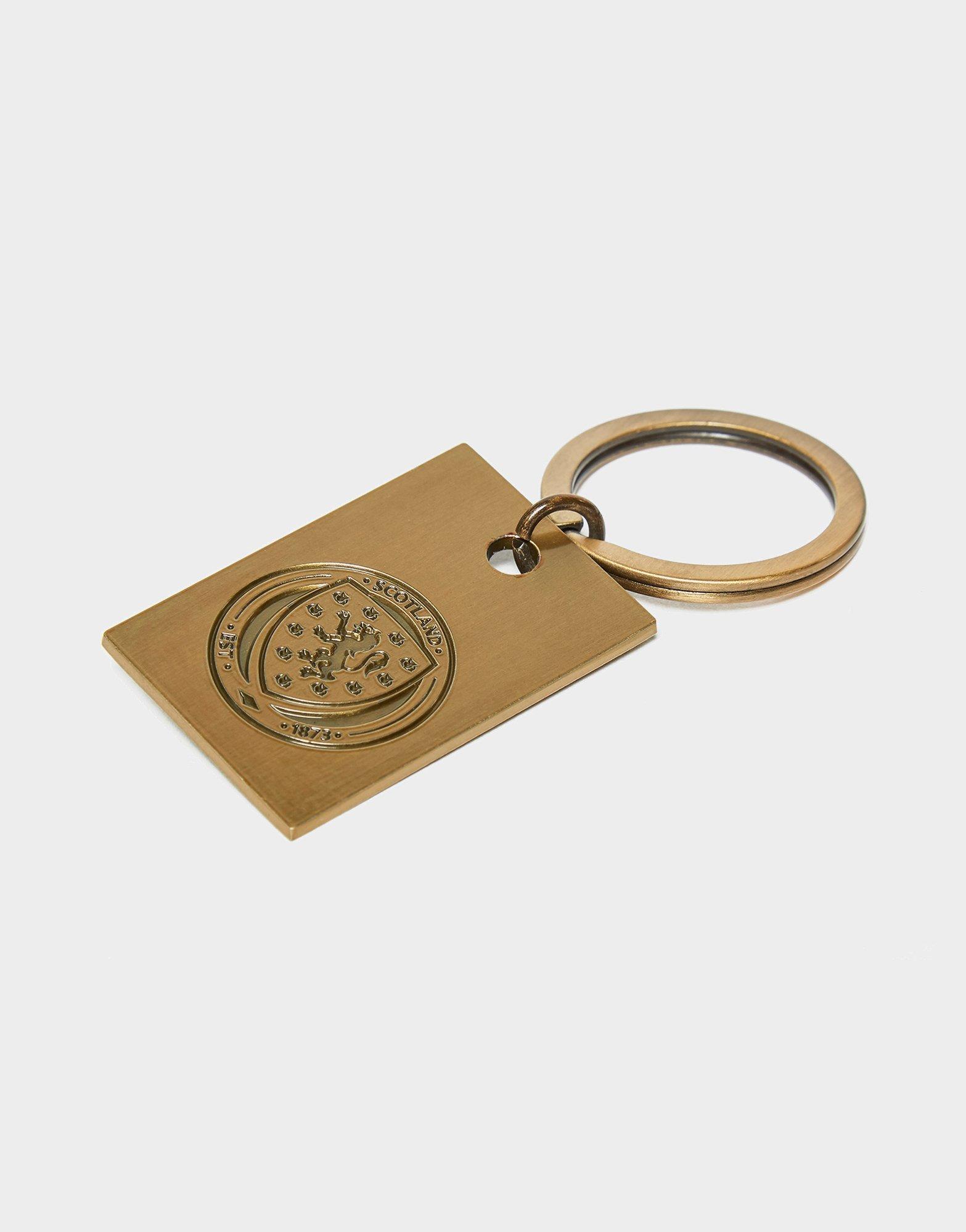 Official Team Scotland FA Vintage Keyring