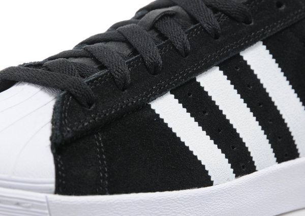 adidas superstar vulc adv #d68718 white / black / white *new