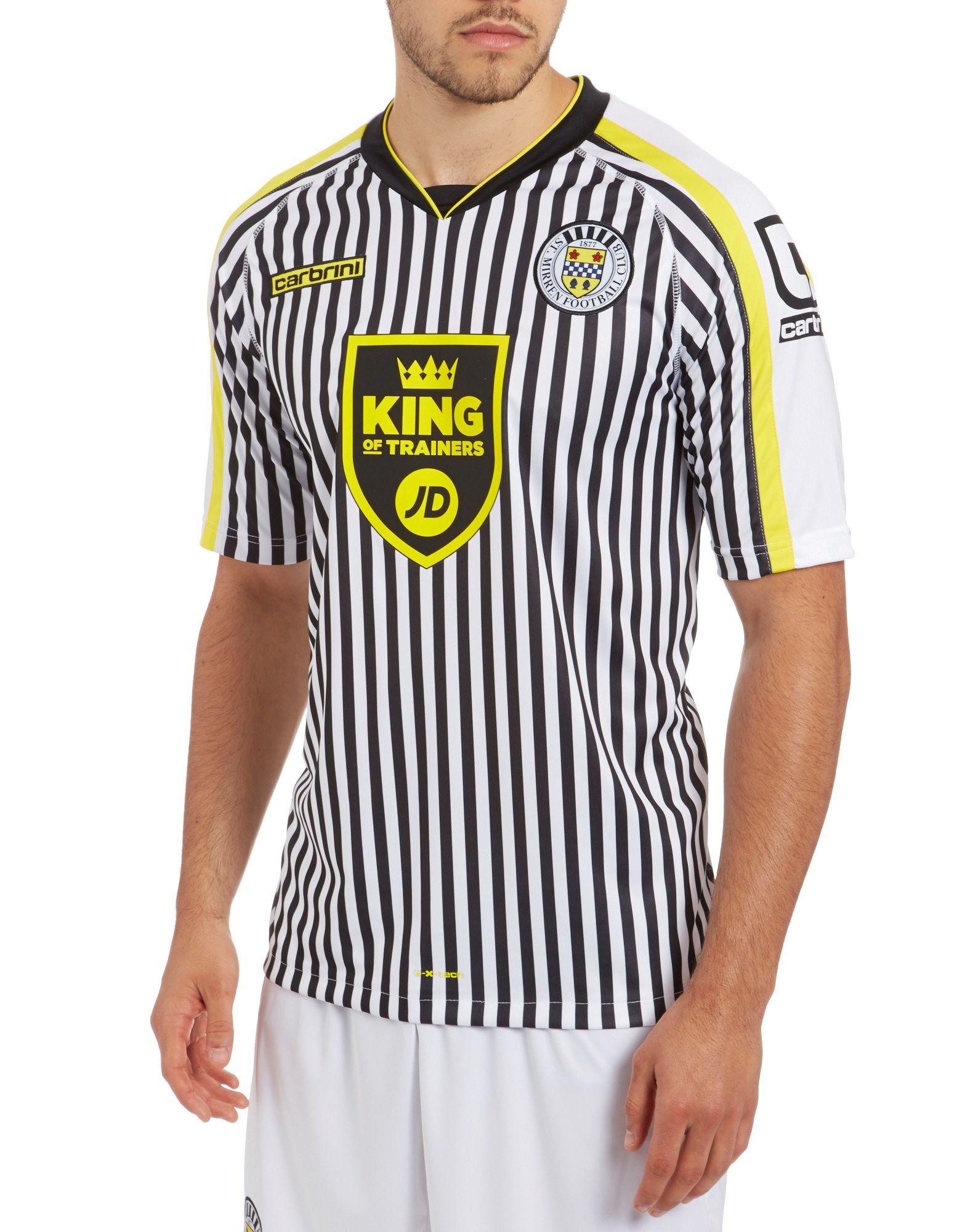 Carbrini ST Mirren 2014 Home Shirt