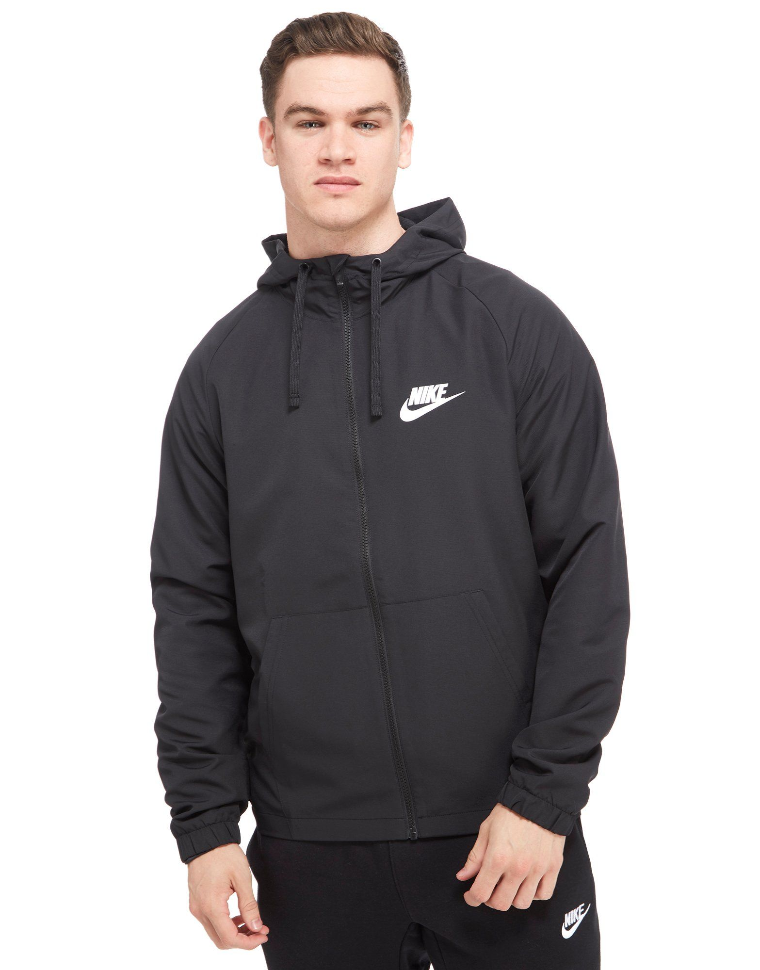 nike shut out 2 woven hoodie jd sports. Black Bedroom Furniture Sets. Home Design Ideas