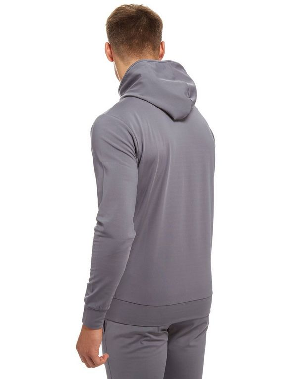 11 Degrees Core Poly Zip Through Hoodie