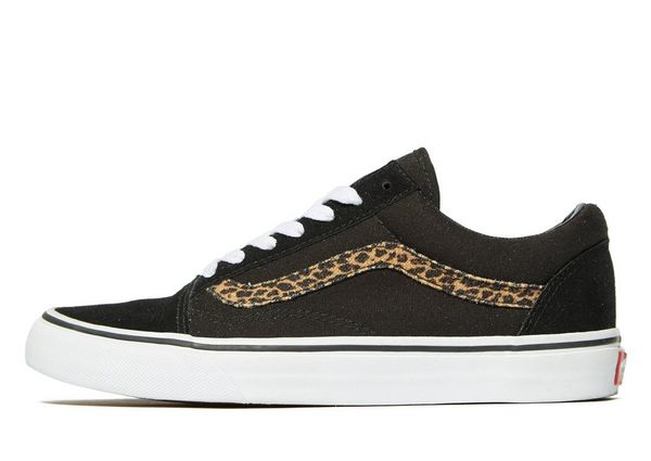 vans old skool leopard