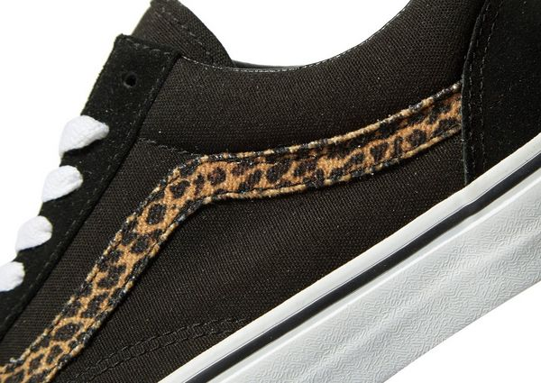 vans old skool dames leopard
