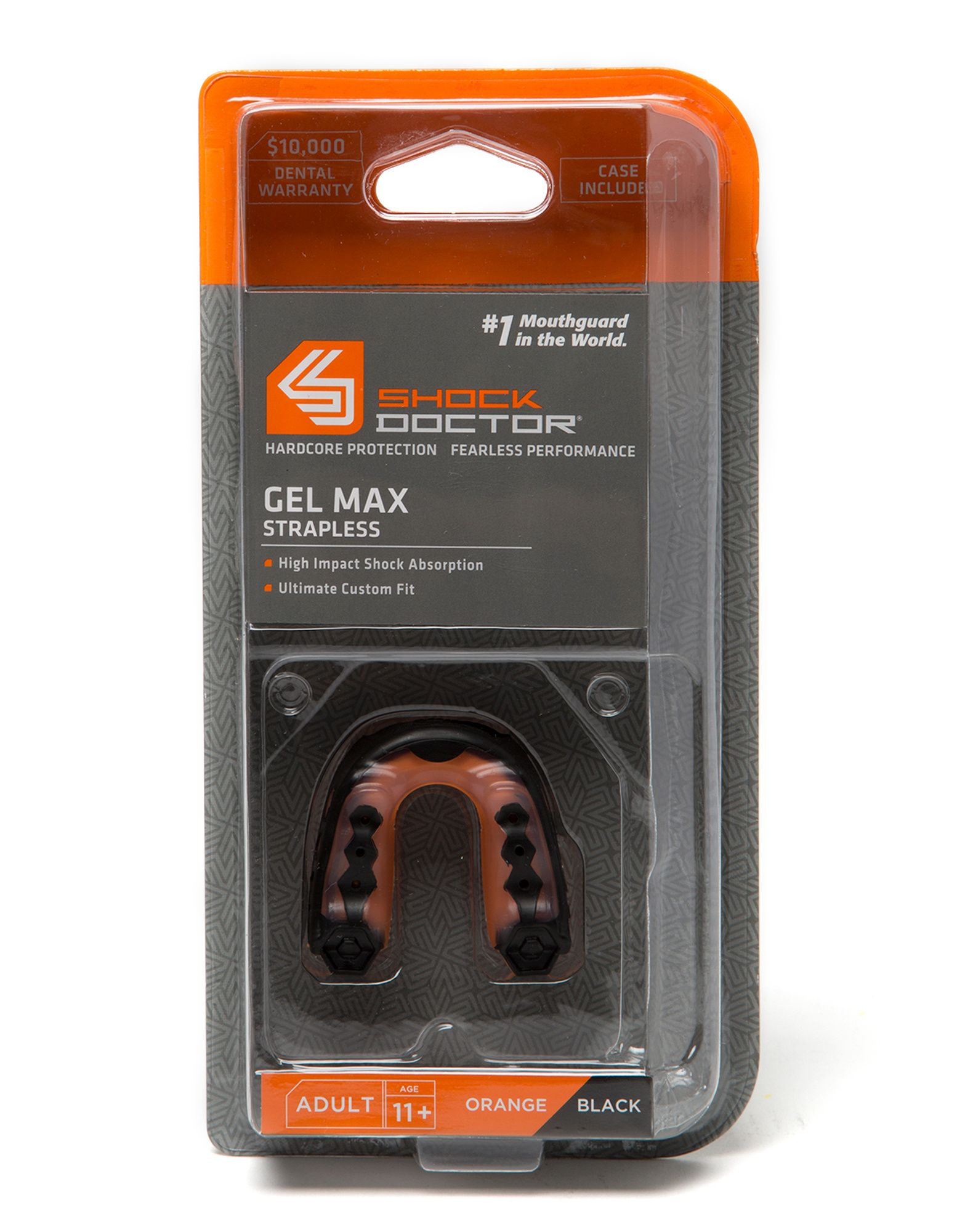 Shock Doctor Gel Max Strapless Mouthguard Junior