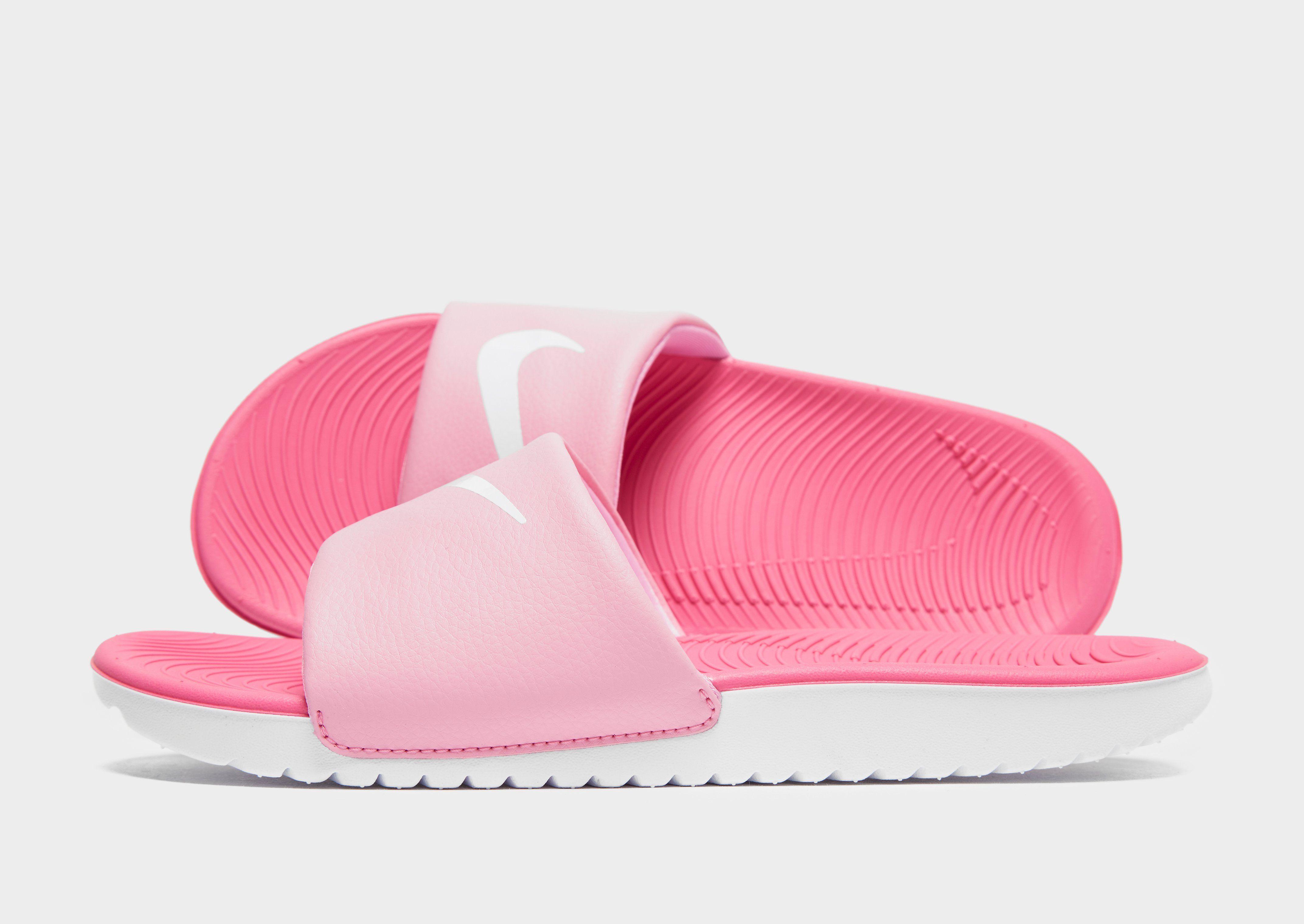 1430ad623c02d5 Nike Kawa Slides Junior