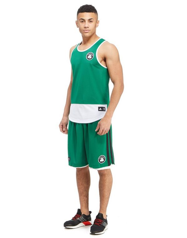 f50fe505a8 ... adidas Summer Run Boston Celtics Vest ...