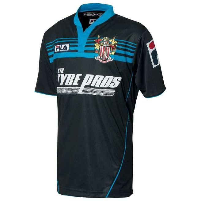 Fila Stevenage 2013/14 Away Shirt Junior