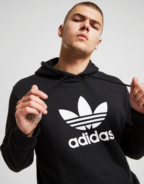 adidas originals trefoil state hoodie herren jd sports. Black Bedroom Furniture Sets. Home Design Ideas