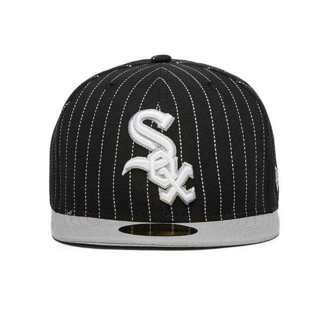 New Era MLB Chicago White Sox 59FIFTY Fitted Pin Crown Cap