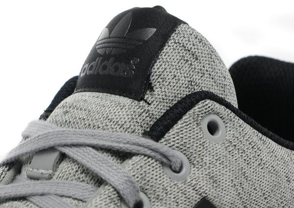 adidas originals zx flux junior grey and black