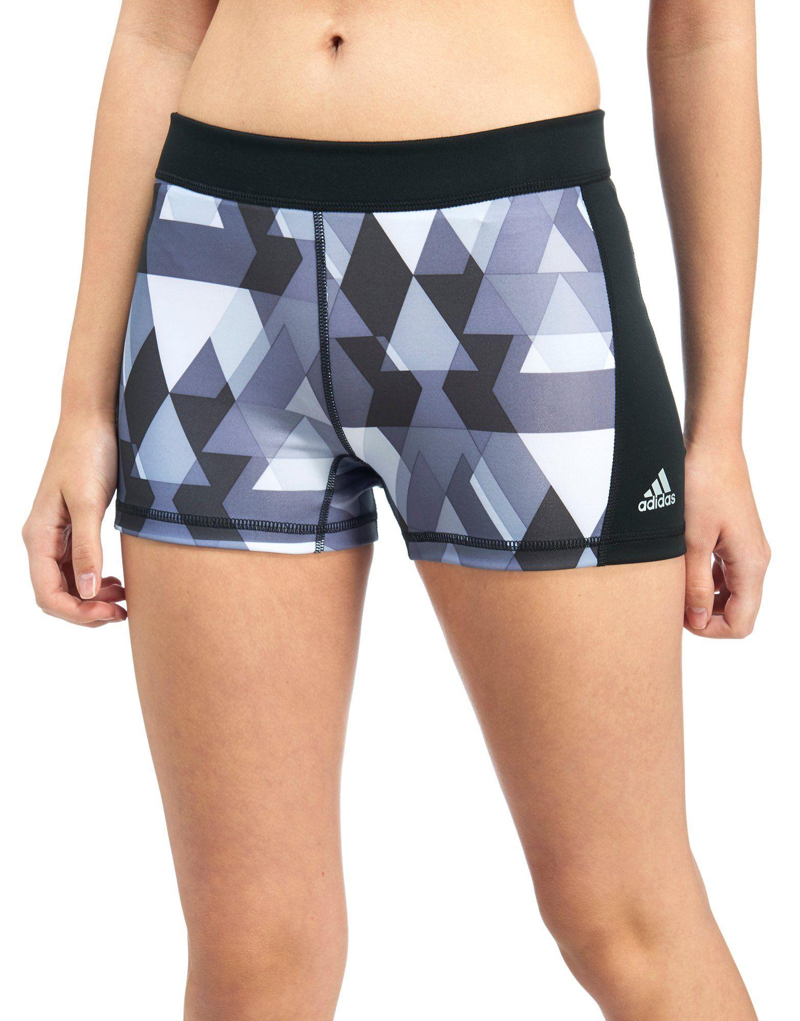 """adidas Techfit 3"""" Printed Shorts"""