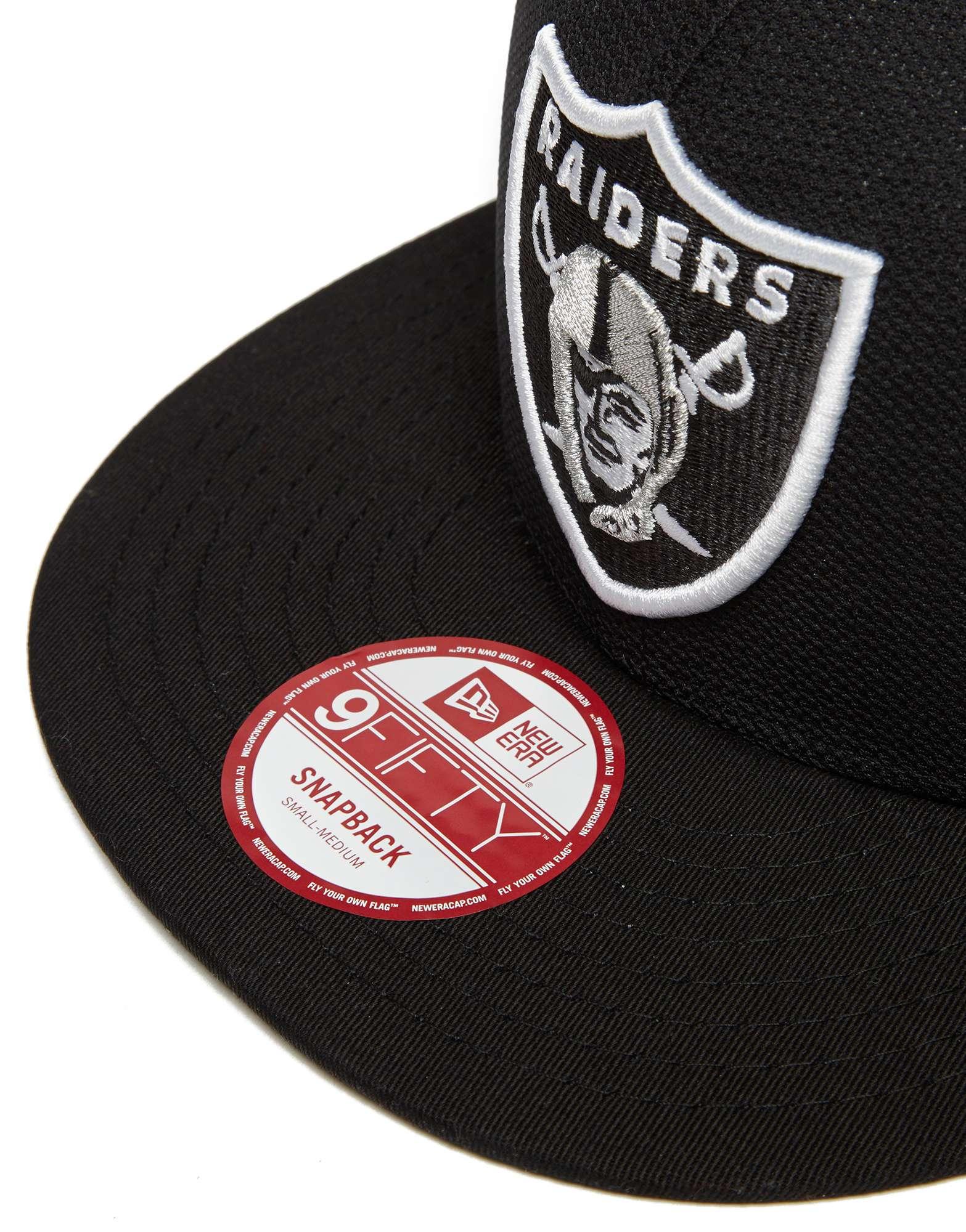 New Era NFL Oakland Raiders 9FIFTY Mesh Snapback Cap