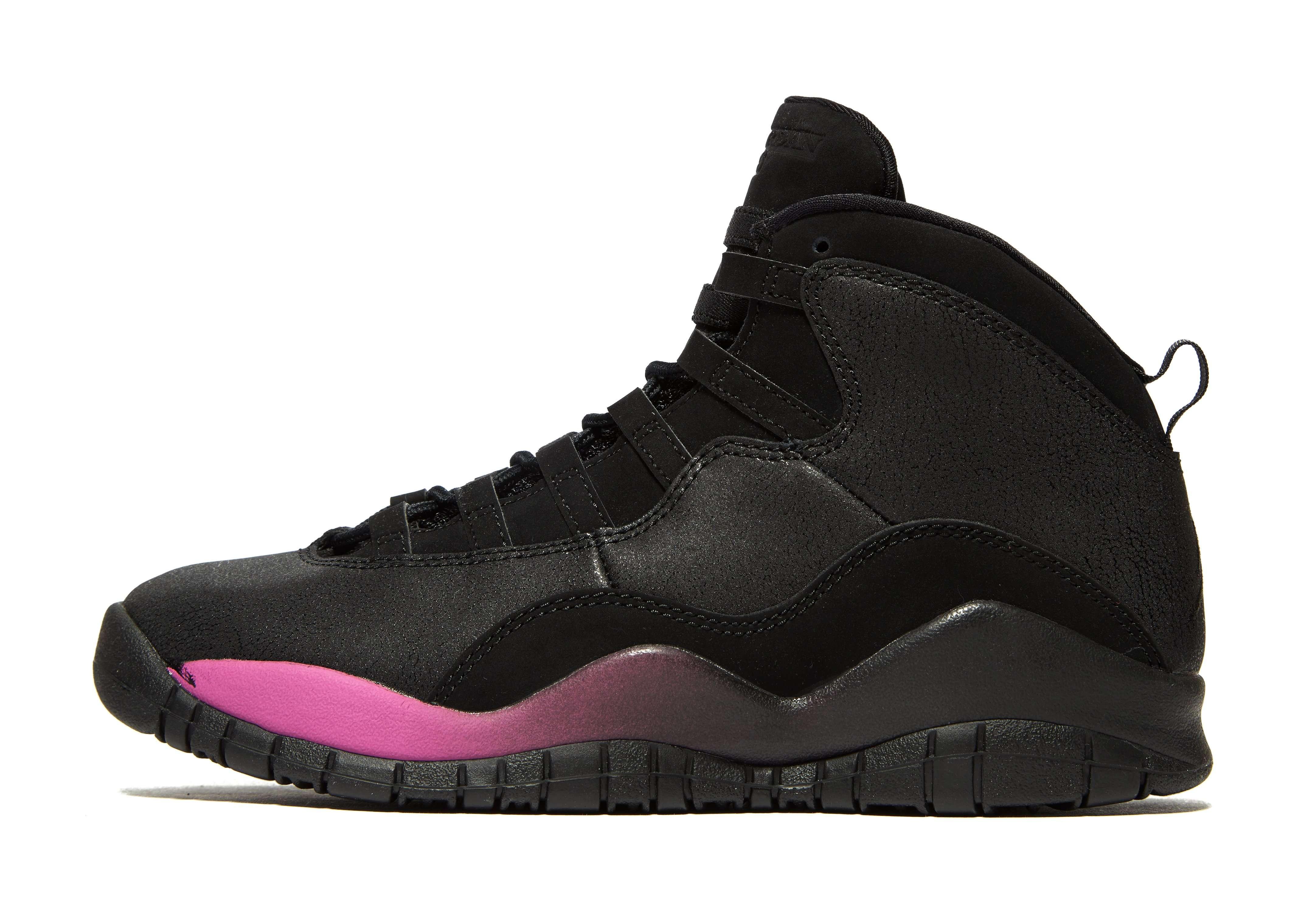 Jordan Air 10 - Women's Trainers - Black 008988