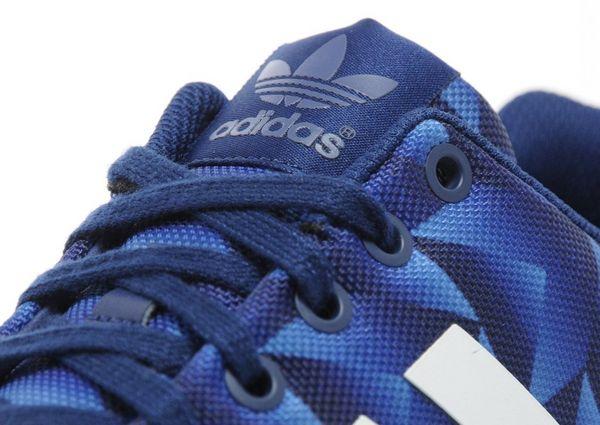 Adidas Zx Flux Print Blue