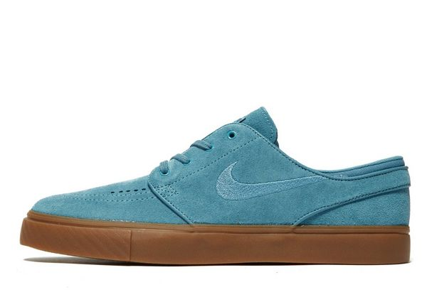 Nike SB Zoom Stefan Janoski - Men's Skate Shoes - Blue 009533