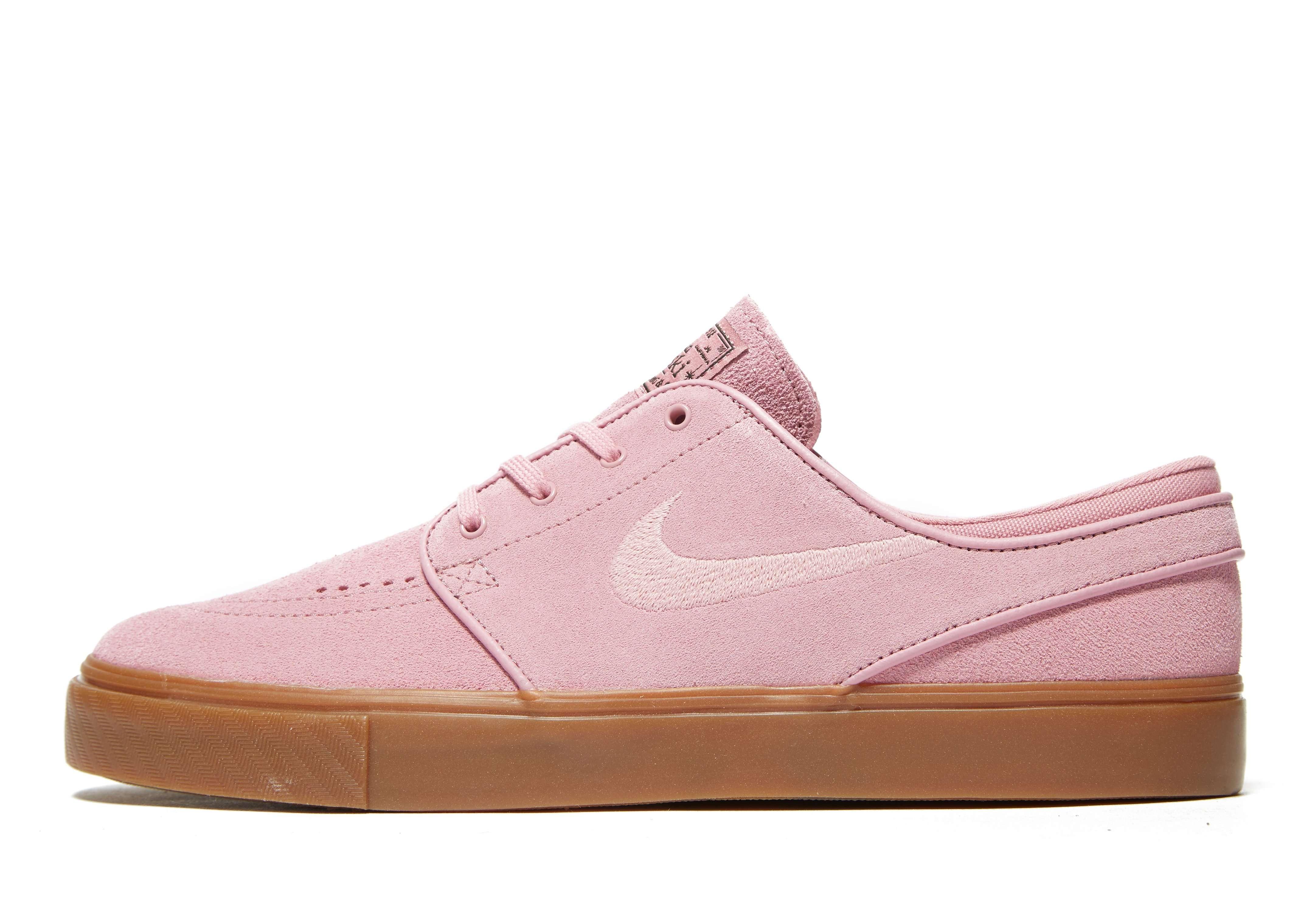 Nike SB Zoom Stefan Janoski - Men's Skate Shoes - Pink 009535