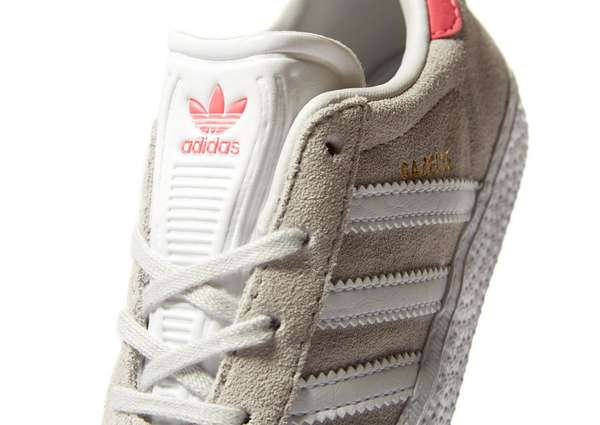 adidas originals gazelle ii infant grey