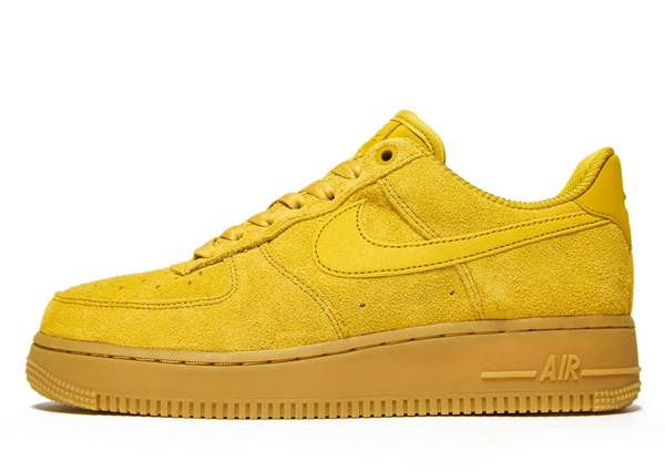 Nike Air Force 1 - Women's Trainers - Yellow 010254