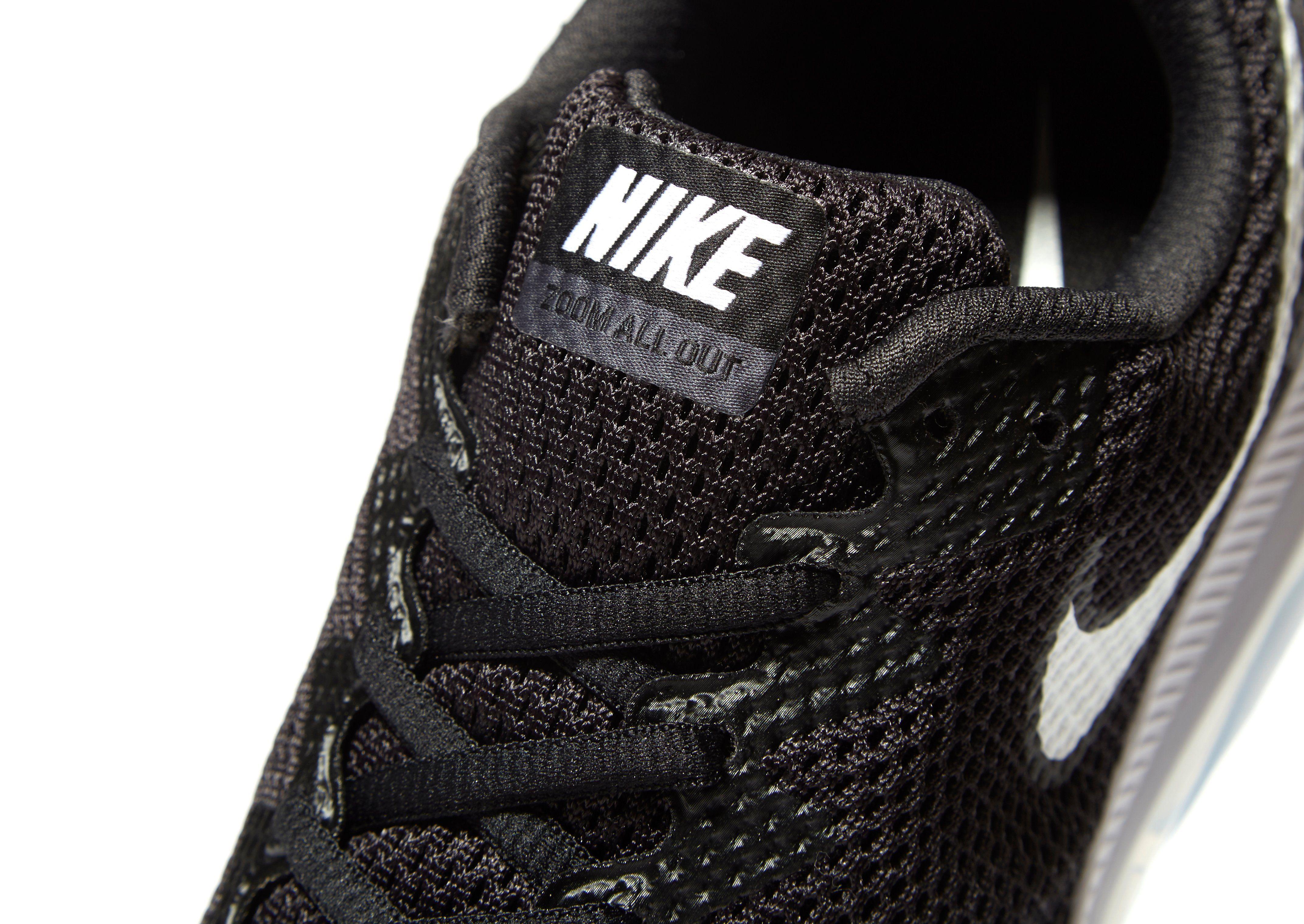 Billige Fälschung Original- Nike Zoom All Out Low II Schwarz Online-Verkauf Freies Verschiffen Truhe Bilder rdggFFBsp