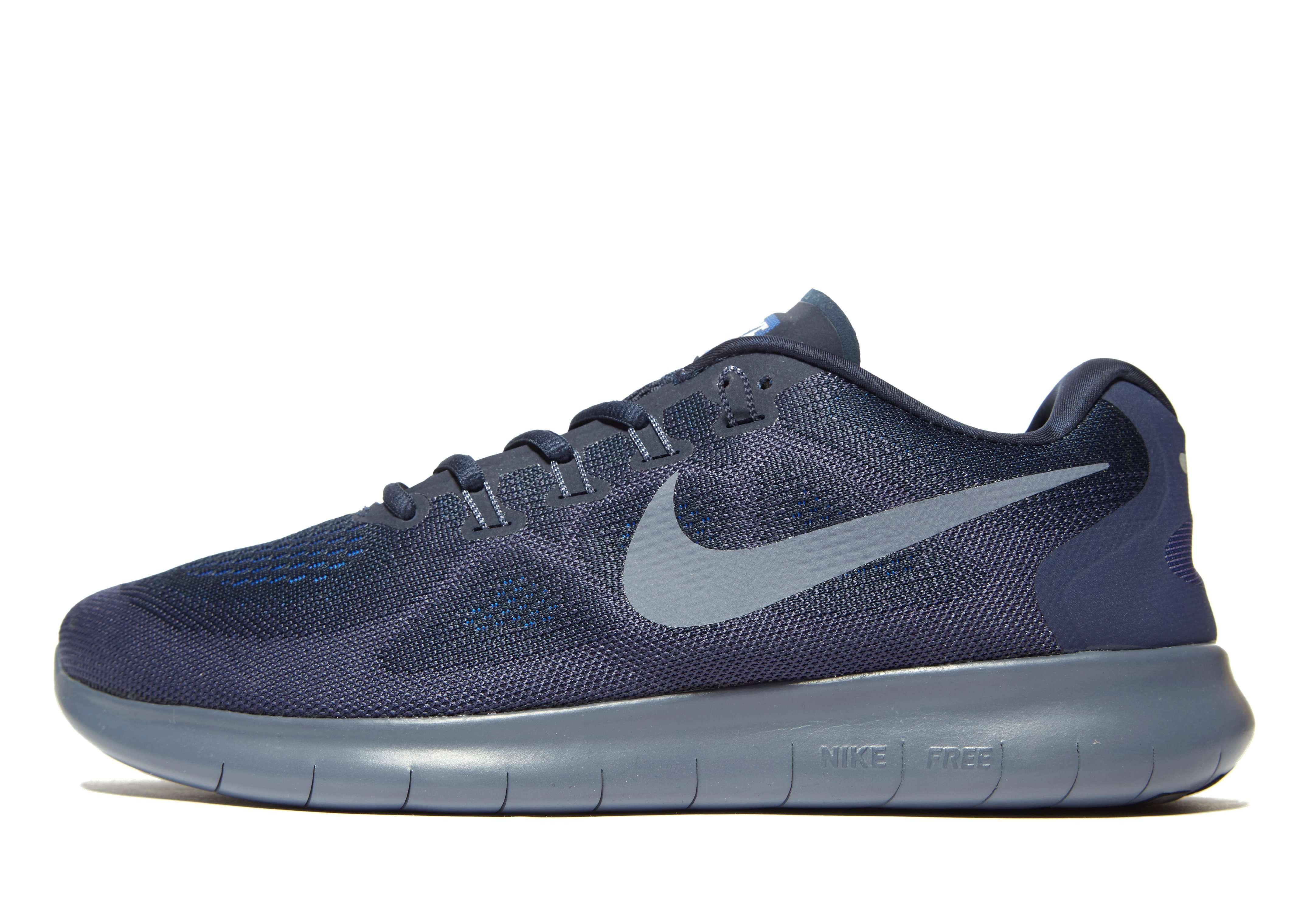 Nike Free RN - Men's Trainers - Blue 010358