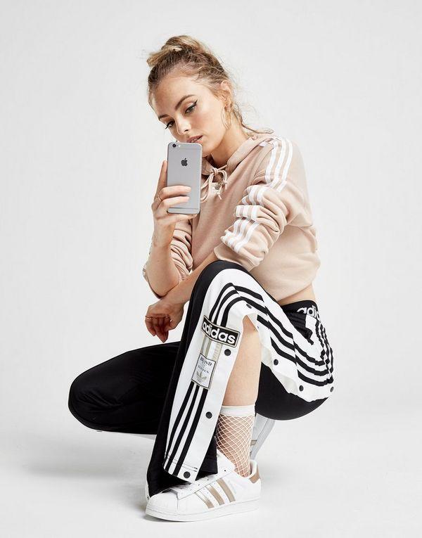 adidas Originals Pantalon de survêtement Adibreak Popper Femme  d155d76addb