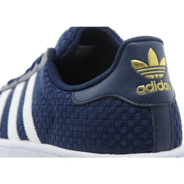 Adidas Superstar Weave Blue