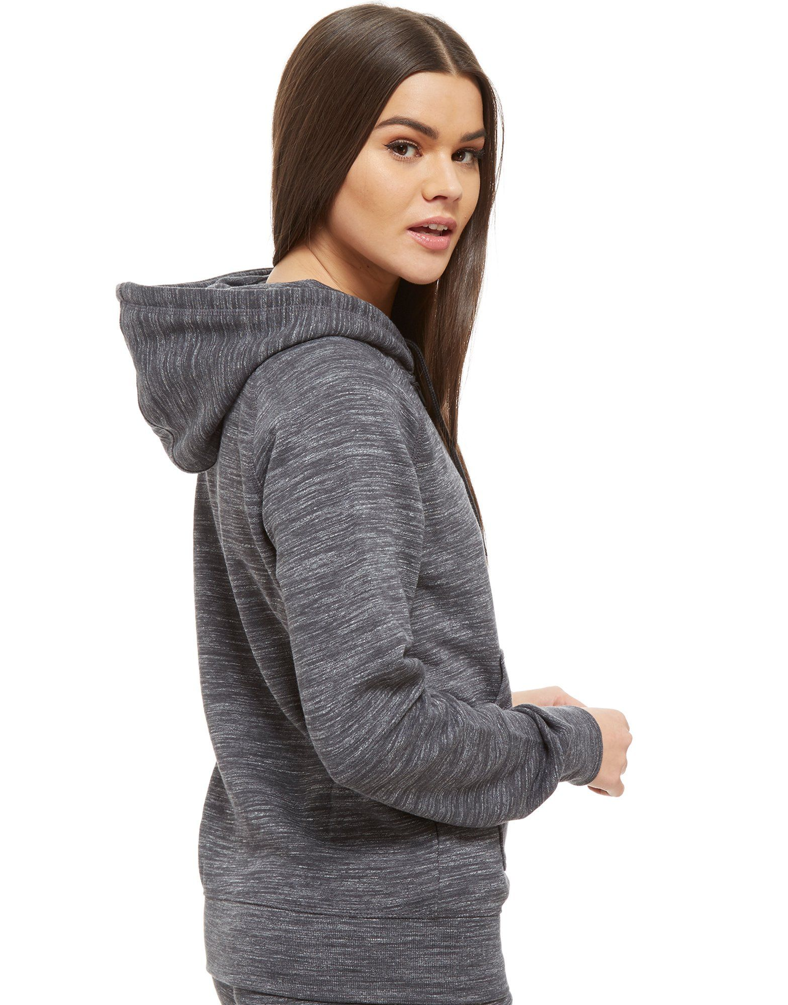 adidas Originals Premium Spacedye Full Zip Hoodie Grau
