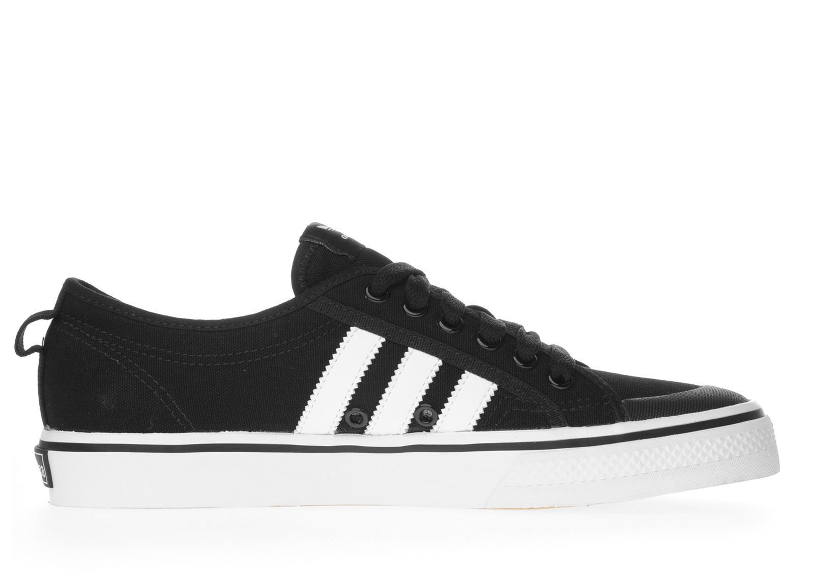 Adidas nizza black and white dresses