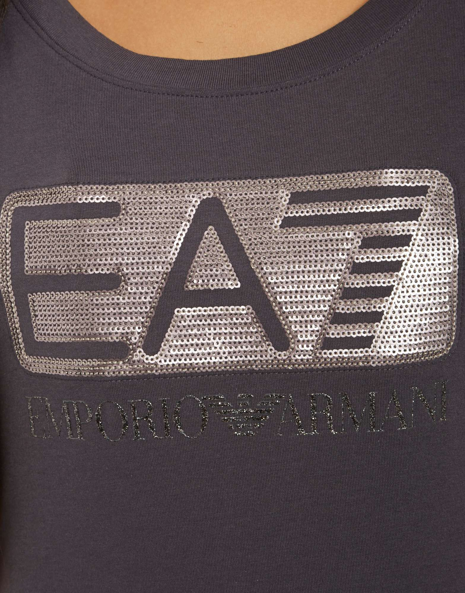 Emporio Armani EA7 Graphic Sequins T-Shirt