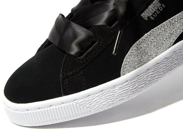 puma heart noir junior