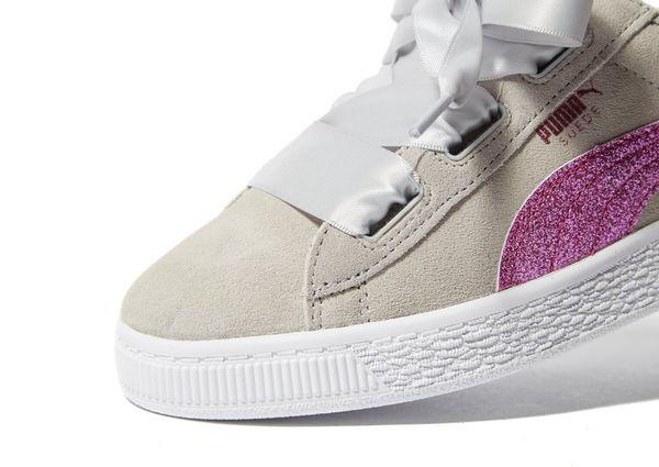 puma suede grau pink