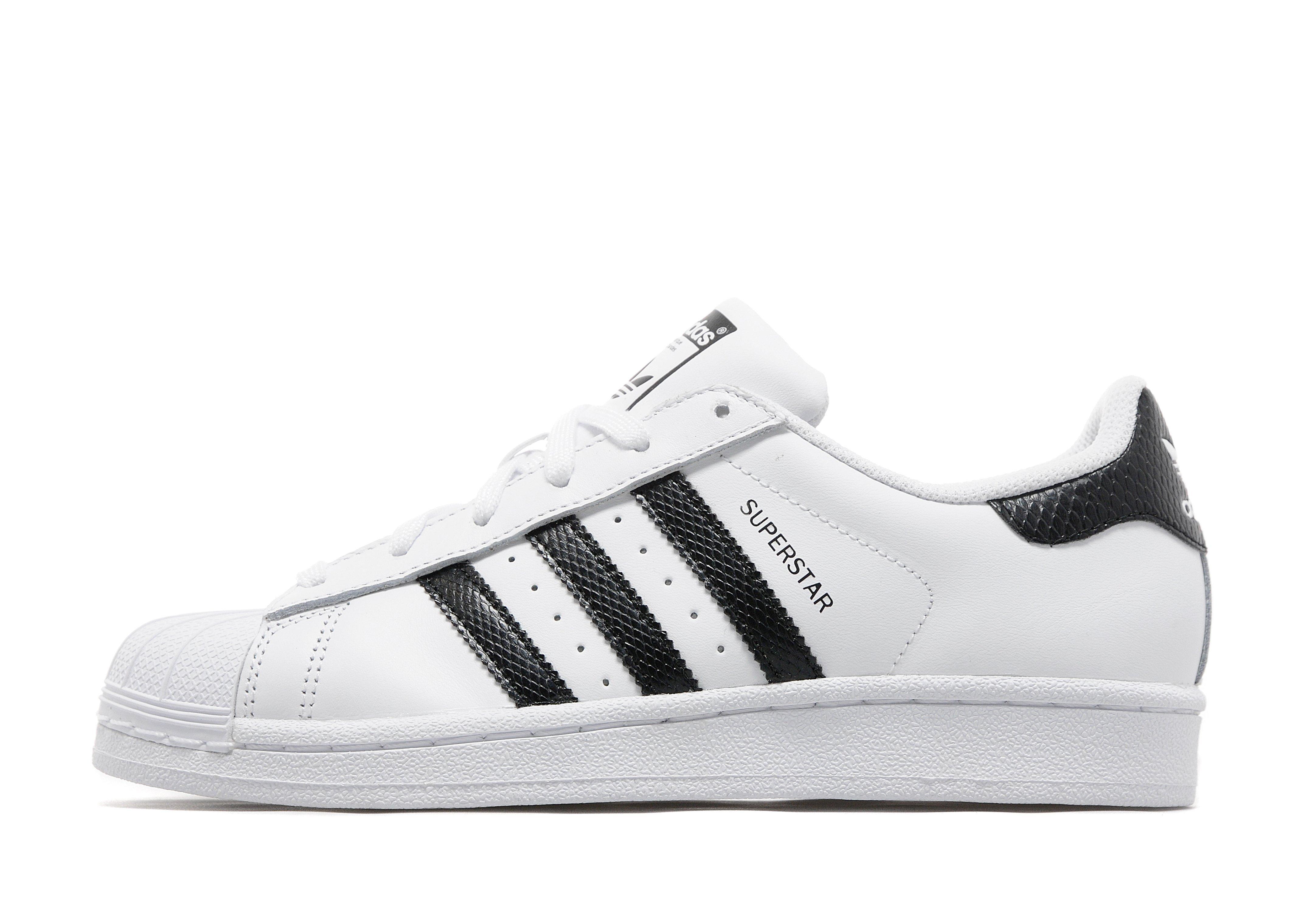 superstar adidas wit zwart