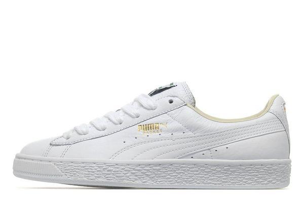 puma basket white jd