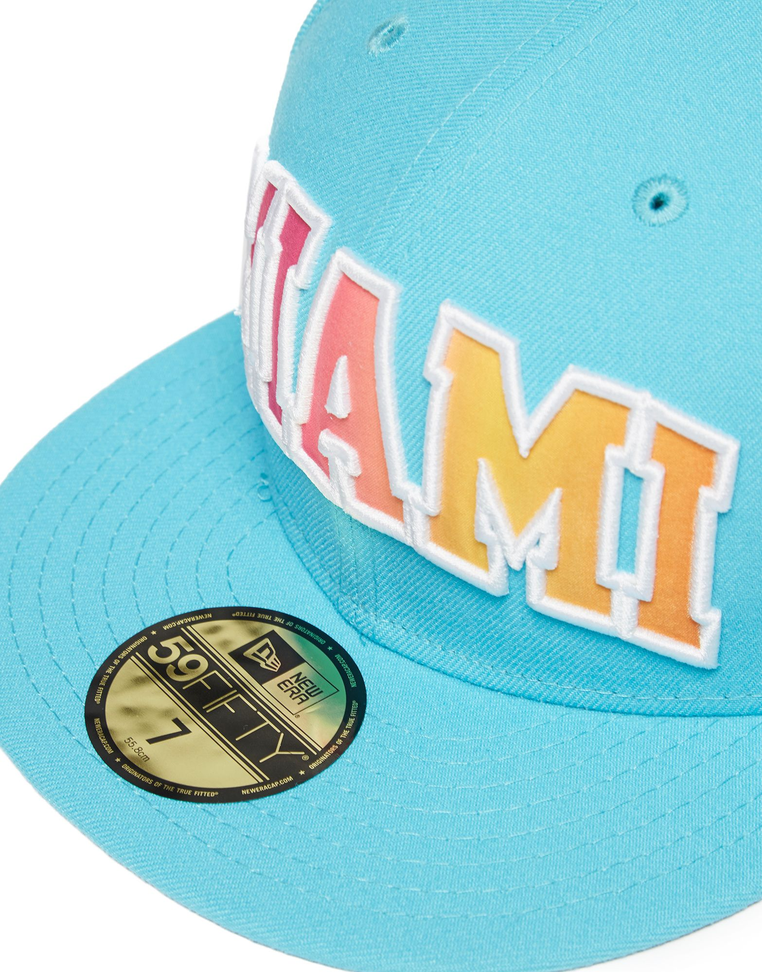 New Era MLB Miami Marlins 59FIFTY Grade Filler Fitted Cap