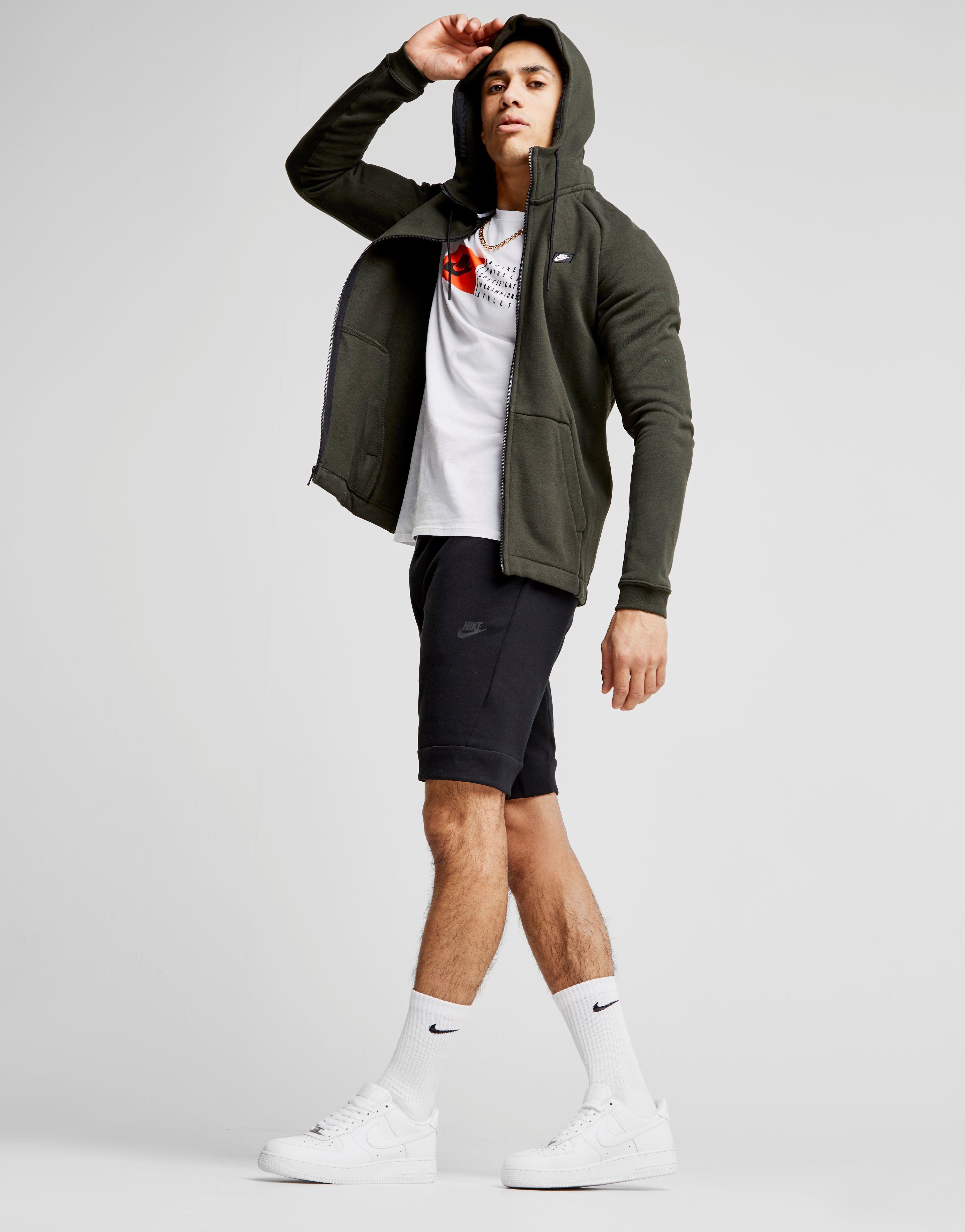Nike Modern Full Zip Hoodie Gr眉n