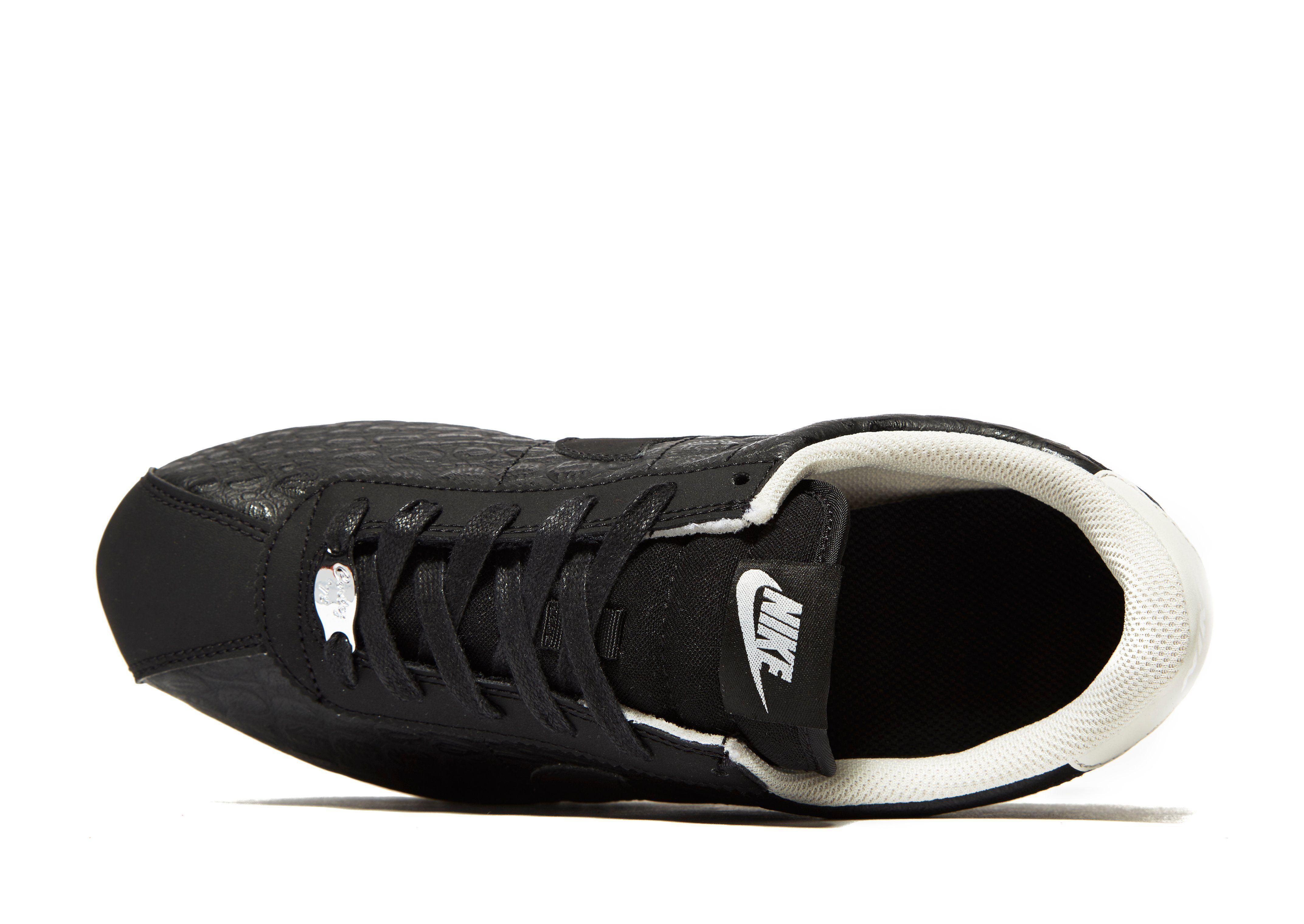 Großer Verkauf Zum Verkauf Nike Cortez Junior Schwarz-Weiß Schwarz Outlet Top-Qualität Schnelle Lieferung Online Billig Verkauf 2018 Unisex Sammlungen AigDSDCV3