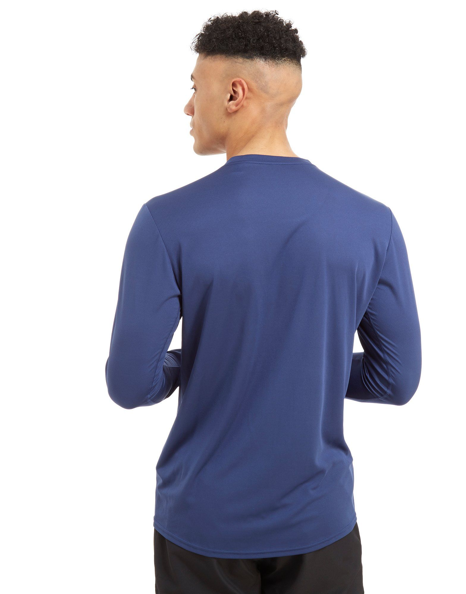 adidas Response Long Sleeve T-Shirt Blau