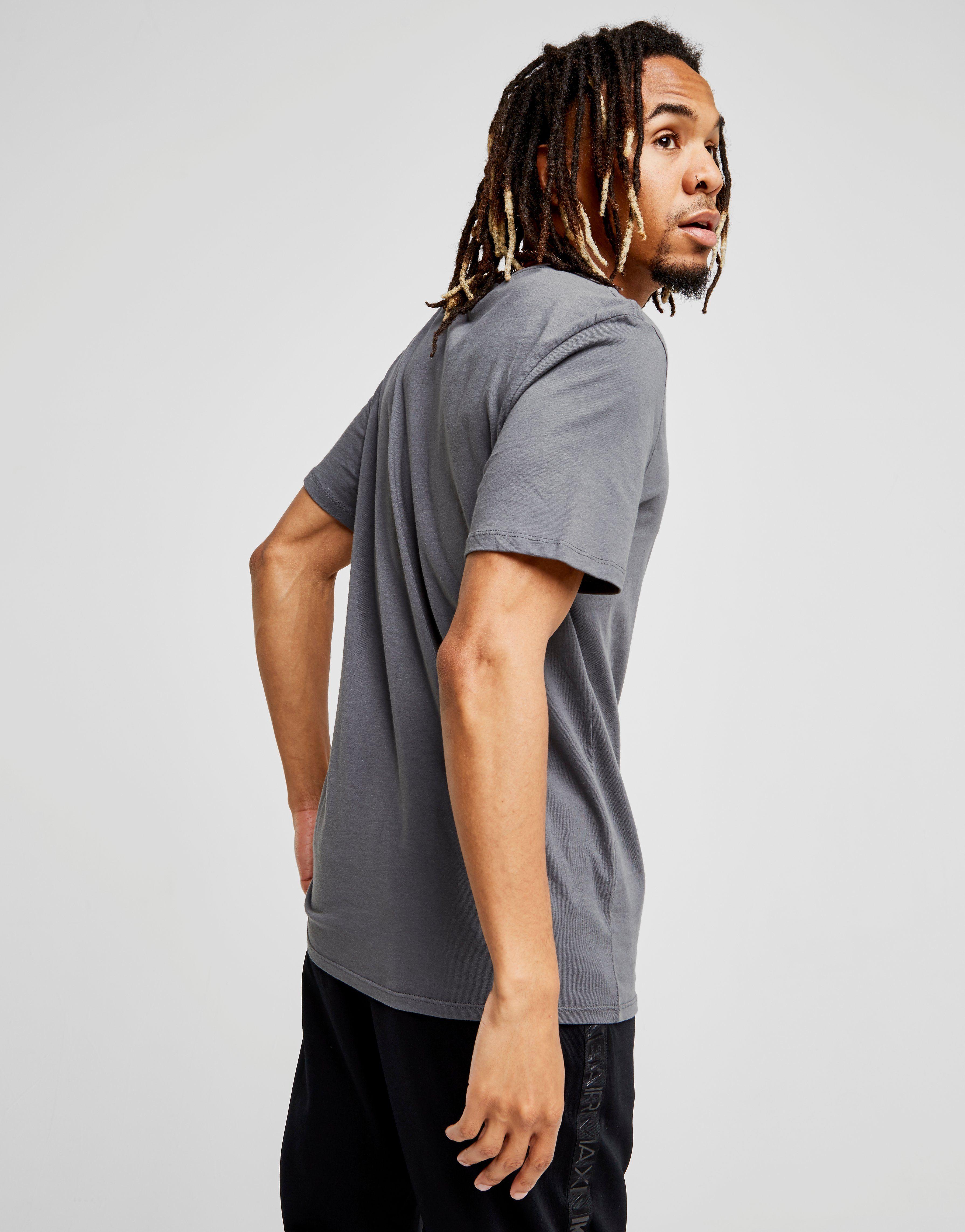Nike Core 2 T-Shirt Dunkelgrau/Schwarz Grau Günstige Preise Zuverlässig Shopping-Spielraum Online Preiswert Günstiger Preis Mode-Stil Online NligJ
