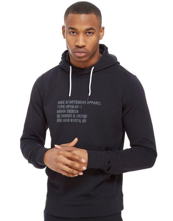nike air force 1 hoodie