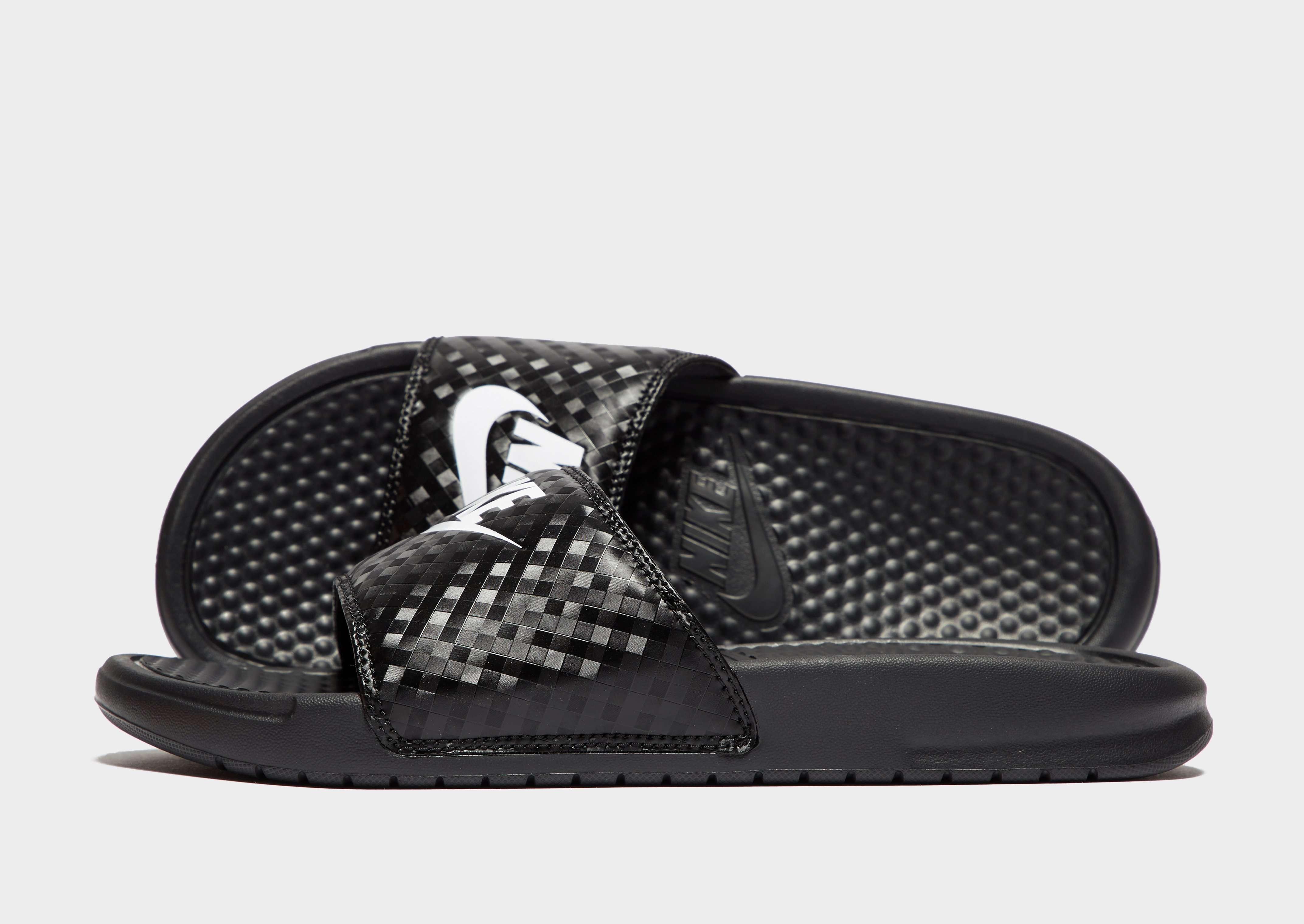 nike benassi taille 37,Nike Benassi JDI Slide Femmes Casual