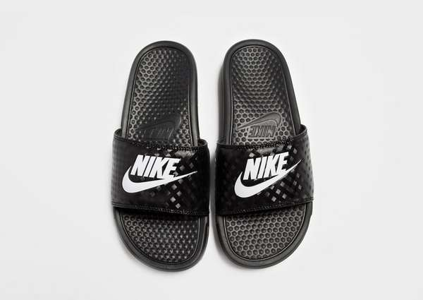pretty nice a3d7e 701d7 Nike Benassi Just Do It Slides Womens