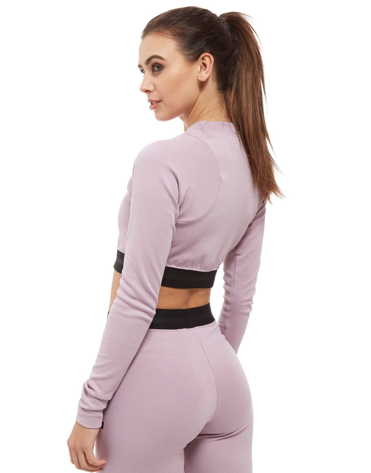Nike Air Long Sleeve Crop Top Dames