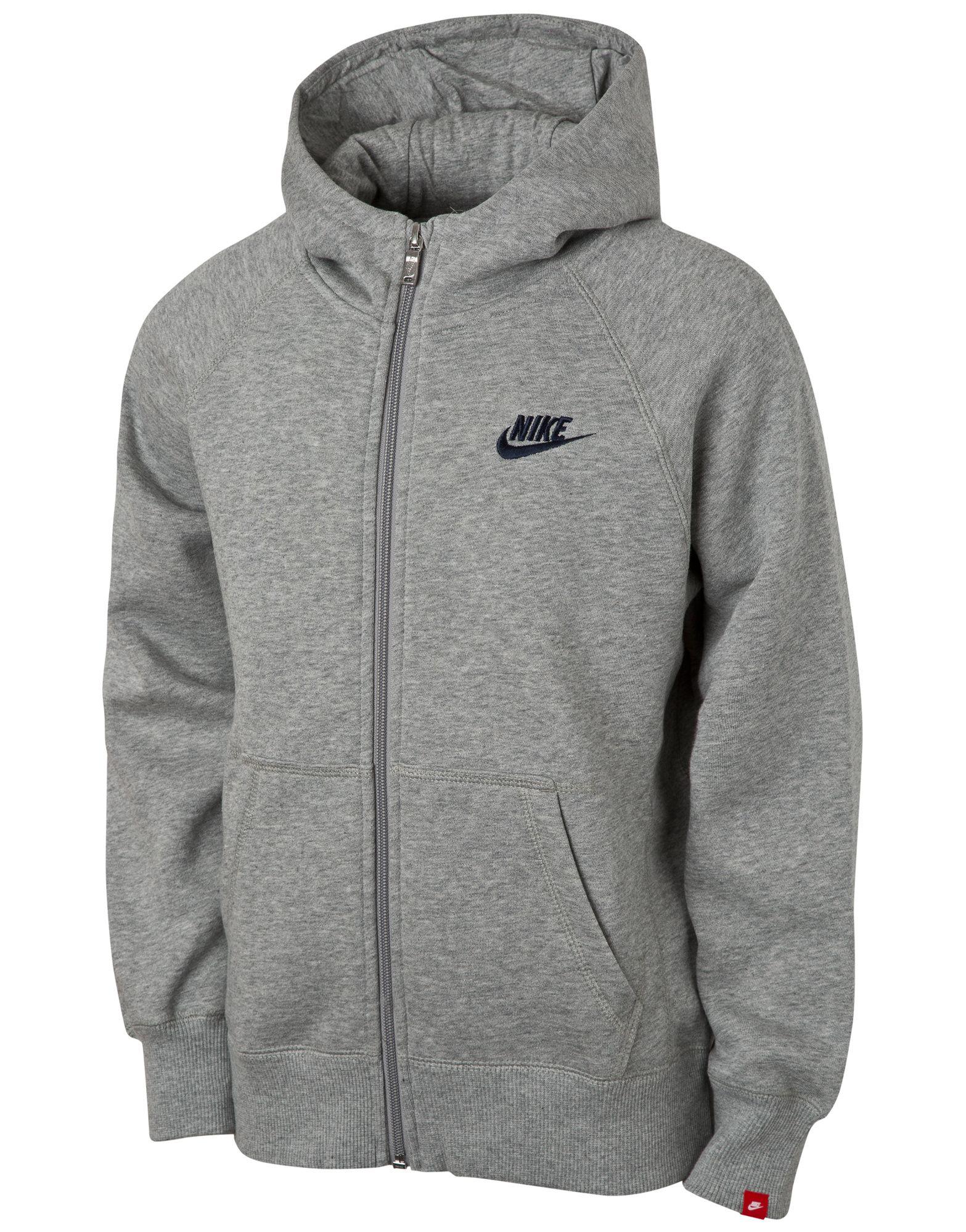 Nike Corp Logo Zip Hoody Junior